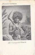 Océanie - Nouvelle-Calédonie - Précurseur 1ère Série - Canaque De Gomen - N° 39 - New Caledonia