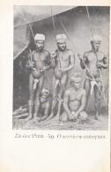 Océanie - Nouvelle-Calédonie - Précurseur 1ère Série - Ile Des Pins - Guerriers Canaques - Nu - N° 40 - New Caledonia