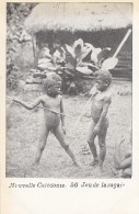 Océanie - Nouvelle-Calédonie - Précurseur 1ère Série - Enfants Jeu De La Sagaie - Guerrier - N° 56 - New Caledonia