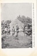 Océanie - Nouvelle-Calédonie - Précurseur 1ère Série - Case Et Canaques Environs De Bourail - Nu - N° 61 - New Caledonia