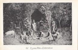 Océanie - Nouvelles-Hébrides - Précurseur 1ère Série - Vanuatu - Types Néo-Hébridais - Nu - N° 47 - Vanuatu