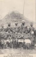 Océanie - Nouvelle-Calédonie - Précurseur - Guerriers Indigènes Femmes - Nu - N° 44 - New Caledonia