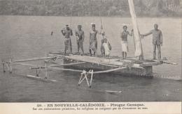 Océanie - Nouvelle-Calédonie - Précurseur - Pirogue Canaque - Bâteau Pêche - N° 49 - New Caledonia
