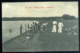 Cpa Du Sri Lanka Ceylon  -- Bathing Place , Colombo  GX59 - Sri Lanka (Ceylon)