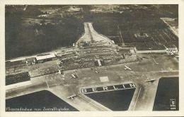 Germany, BERLIN, Zentralflughafen, Aerial View Airport (1930s) RPPC - Germany