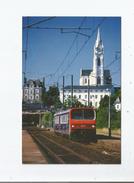 PONTCHATEAU (44) AUTOMOTRICE Z 9600 N° 9603 TRAIN N° 87875/4 RENNES-NANTES  21 JUILLET 2000 - Pontchâteau