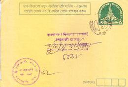 BANGLADESH 2003 PREPRINTED SLOGAN, OFFICIAL POSTAL STATIONERY ENVELOPE - COMMERCIALLY MAILED - Bangladesh