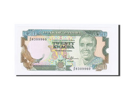Zambie, 20 Kwacha, Undated (1989-91), KM:32b, NEUF - Zambia