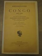 Bibliographie Du Congo 1880-1895 - Catalogue Méthodique - Histoire Géographie Colonisation - Wauters Buyl - Bruxelles - Books, Magazines, Comics