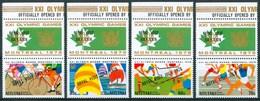 """1976 Aitutaki """"Montreal 76"""" Olimpiadi Olympics Games Set & Block MNH** Zz39 - Aitutaki"""