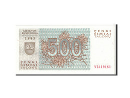 Lithuania, 500 Talonu, 1993, KM:46, NEUF - Lituanie