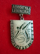 Figure Skating European Championships 1970 Leningrad USSR Pin - Skating (Figure)