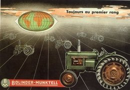Bolinder-Munktell BM230 30cv   -    Tracteur Agricole    -  CPM - Tracteurs