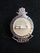 Figure Skating European Championships 1970 Leningrad USSR Pin - Patinage Artistique