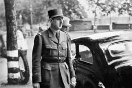 Militaria WW2 - Le Général De Gaulle  à Londres En 1940 - 1939-45