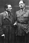 Militaria WW2 - Le Général De Gaulle Et Le Journaliste Jean Oberlé à Londres - 1939-45