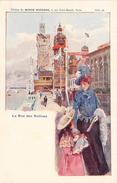 PARIS - Carte Publicitaire - La Rue Des Nations - Edition Du Monde Moderne - France