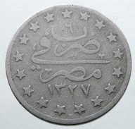 1914 - 1 Qirsh -  (AH1327/6) - KM# 306 - Egitto