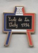 3 Pin´s Championnat De France De Tir  - Vichy 1994 - Alençon 1992 - Niort 1995 - Pin's & Anstecknadeln