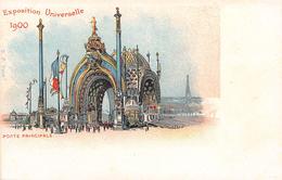 PARIS - Exposition Universelle De 1900 - Porte Principale - Mostre