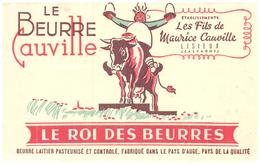 "B/Buvard  ""Beurre  Cauville ""   (N= 1) - Dairy"