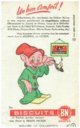 J J M/Buvard  Journal De Mickey (les Modeles Sont Diférents)   (N= 1) - Buvards, Protège-cahiers Illustrés