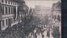 CARTE-PHOTO Stempel Bleicherode 1915 (Truppen) - Bleicherode