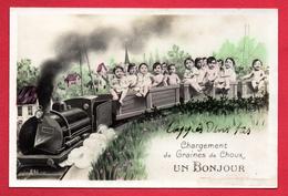 Chargement De Graines De Choux. Transport De Bébés En Train. 1912 - Babies