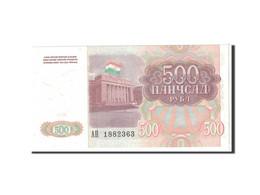 Tajikistan, 500 Rubles, 1994, KM:8a, NEUF - Tadjikistan