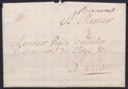 Belgie   .    OBP    .    Lettre   1774       .       O      .    Gebruikt   .   /   .     Oblitéré - 1714-1794 (Oostenrijkse Nederlanden)