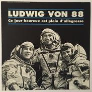 LUDWIG VON 88 - Ce Jour Heureux Est Plein D'Allégresse - LP Album 33 RPM - Rock