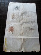 BRAZIL - BRASIL 1833 PERNAMBUCO Large Document BILL OF HEALTH -  Ship From CERDEÑA To Rio Da Prata - Documentos Históricos