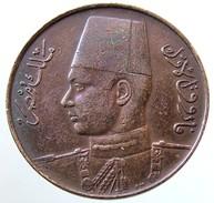 1938 - Egypt 1 Millieme -  (AH1357) - KM# 358 - Egitto