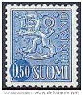 Finland 1970 0.50 Wapen Blauw Fluorescerend PF-MNH-NEUF - Finland