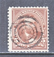 U.S. 255  Perf  12     (o)   No Wmk.  1894 Issue - 1847-99 General Issues