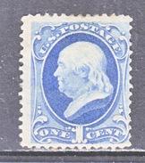 U.S. 156  *  1873  Issue - Unused Stamps