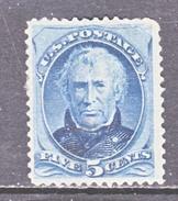 U.S. 179  Fault    *  1875  Issue - Unused Stamps