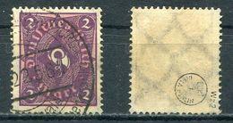 Deutsches Reich Michel-Nr. 191 Gestempelt - Geprüft - Germany