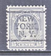 U.S. 514    Perf.. 11  No Wmk. *  N.Y.  1917-19 Issue   MINT  PRE-CANCEL - United States