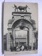 59 - LILLE -  PORTE DE L'ABATTOIR - ANIMEE - Lille