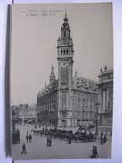 59 - LILLE -  PLACE DU THEATRE - LA BOURSE - ANIMEE - FIACRES - Lille