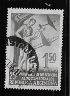 ARGENTINE, 1954, USED # 645   ALEGORY Of AVIATION. Used - Oblitérés