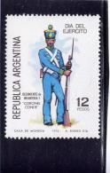 ARGENTINE, 1976, MNH  #1133  PRIVATE, 7th INFANTRY REGIMENT, MNH - Argentine