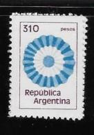 ARGENTINE, 1978, MNH  # 1210,  FLUO PAPER,   MNH - Neufs