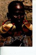 (M+S 505) Mali Women (with Burkina Faso Stamp At Back Of Card) - Mali