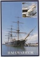 H.M.S. 'WARRIOR' - 19th Century Capital Ship (built 1860) - England - Guerra