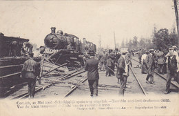 Kontich Contich - Spoorweg Ongeluk Accident Chemin De Fer (top Animation, Train, Trein) - Kontich