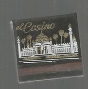 G-I-E, Tabac, Boites, Pochette D'ALLUMETTES, 2 Scans, Publicité  , Bahamas, EL CASINO , Freeport Grand Bahama Island - Matchbox Labels