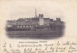 Izegem - Iseghem - Statie En Statieplaats (1900) - Izegem