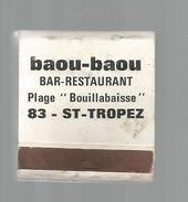 G-I-E, Tabac, Boites, Pochette D'ALLUMETTES, Publicité, 2 Scans  , Hôtel De La Croix Blanche , Charente , Chabanais - Matchbox Labels